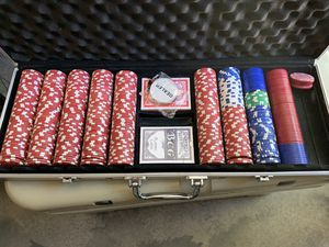 Poker chip set for Sale in Phoenix, AZ