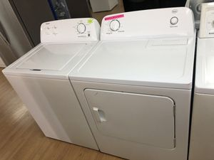 Admiral white washer and roper dryer bundle for Sale in Woodbridge, VA
