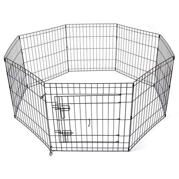 """🐶 36"""" Pet Playpen Kennel 8-Panel 🐶"""