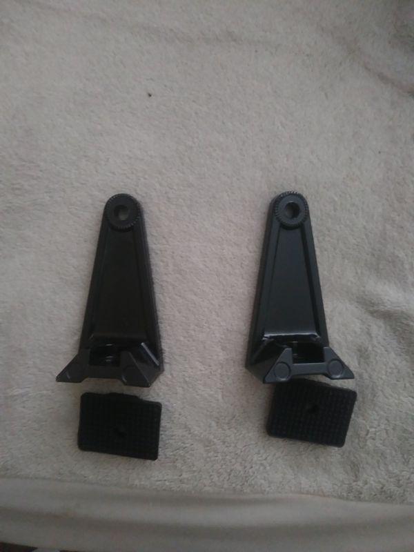 Metal light bar brackets