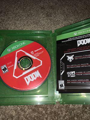 Doom Xbox One for Sale in San Antonio, TX