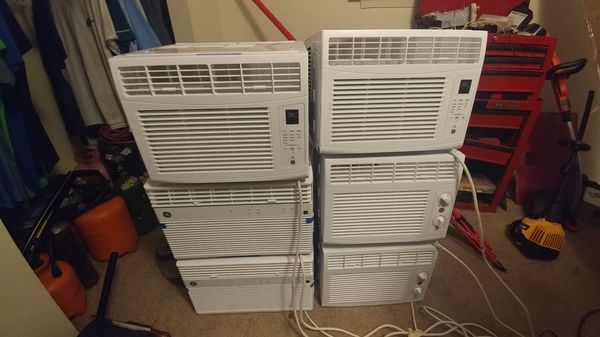 GE 8000 BTU Smart Wi-Fi Window AC Unit