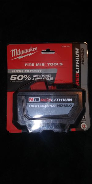 Milwaukee HD12.00 battery for Sale in Springfield, VA