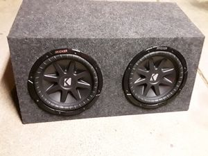 "160$ two kicker vr 10"" 400rms each dual coil for Sale in Phoenix, AZ"