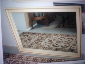 """Large 31"""" x 45"""" wood frame wall MIRROR for Sale in Las Vegas, NV"""