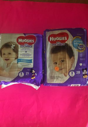 HUGGIES LITTLE MOVERS $6 EACH for Sale in Wauchula, FL