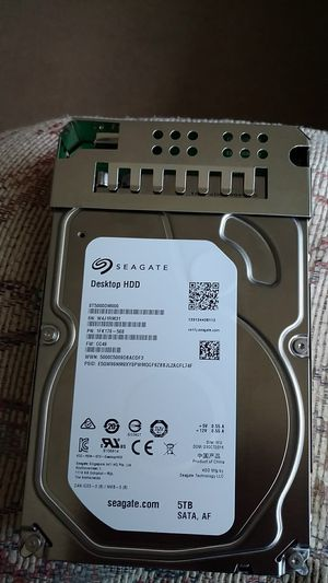 Desktop HDD 5 TB SATA for Sale in Lincoln, NE