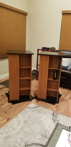 (2) Spinning DVD Racks for Sale in Santa Ana, CA