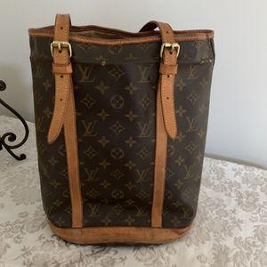 Louis Vuitton monogram canvas bucket bag for Sale in Berwyn, PA