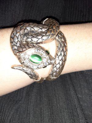 Silver Snake Bracelet for Sale in White Hall, WV