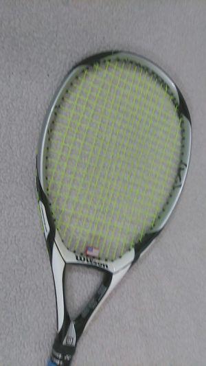 "Wilson K factor Tennis Racket 115"" Head 4"" grip for Sale in Norwalk, CT"