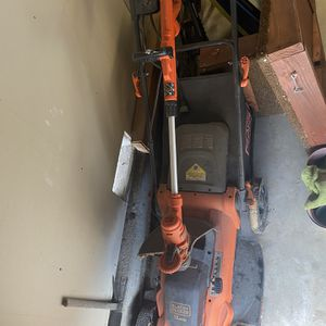 Black And Decker Cord Lawn Mower And Edge Trimmer for Sale in Torrance, CA
