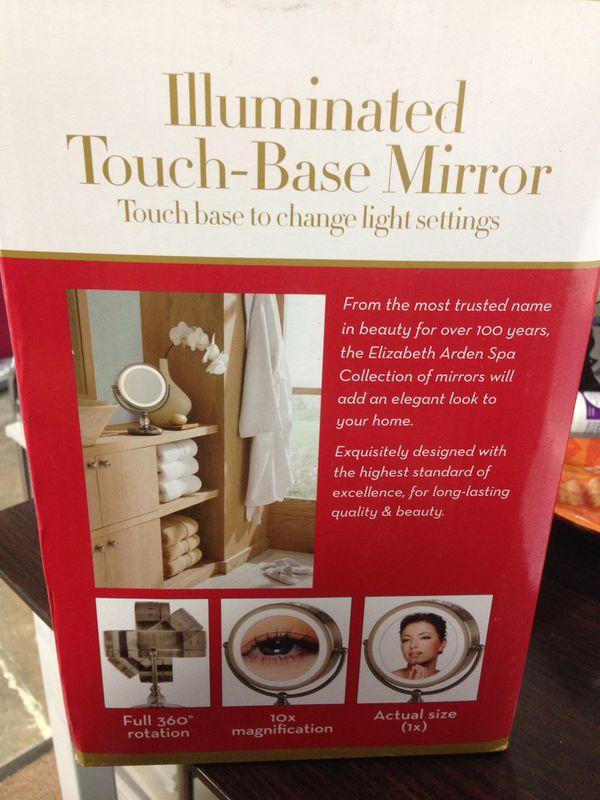Elizabeth Arden lighted makeup vanity mirror (iv)