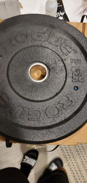 Rogue us mil spec 25 pound plates for Sale in Rockville, MD