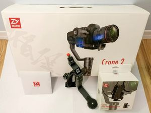 Zhiyun Crane 2 gimbal with hand grip for Sale in Tampa, FL