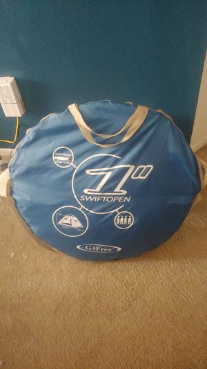 Swiftopen camp tent 4 people for Sale in San Diego, CA