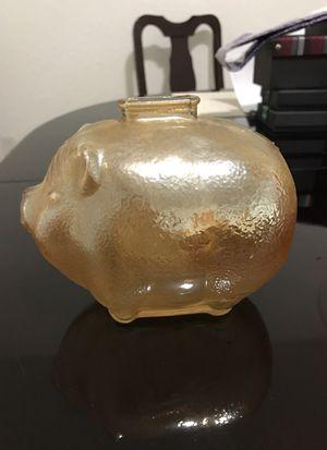 Glass piggy bank for Sale in Miami, FL