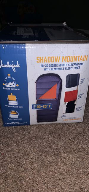 Slumberjack Shadow Mountain Sleeping Bag for Sale in Indianapolis, IN