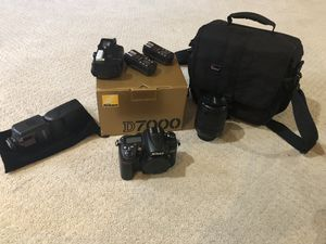 Nikon D7000 w/battery Grip and other Accessories for Sale in Aspen Hill, MD