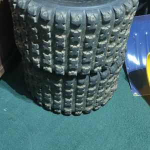 2 Maxxis RazR MX Tires Used for Sale in Mountville, PA