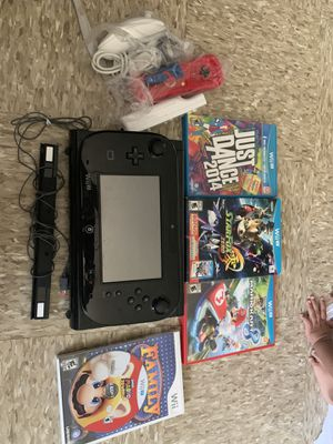 Nintendo Wii U (Black) for Sale in The Bronx, NY