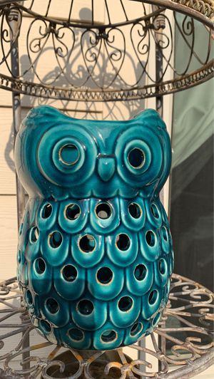 Owl candle holder for Sale in Austin, TX