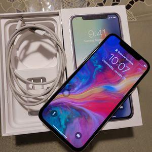 Iphone X 256 GB Unlock White for Sale in Alexandria, VA