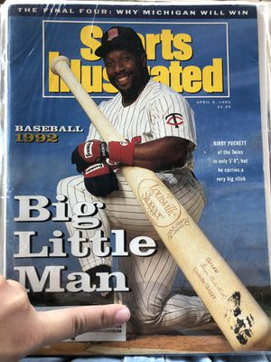 1992 Sports Illustrated Kirby Puckett edition for Sale in Gilbert, AZ