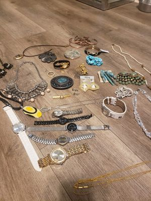 Big JEWELRY LOT including 2 STERLING CHARMS for Sale in Norfolk, VA