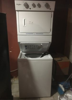 Whirlpool stack washer and dryer for Sale in Trenton, NJ