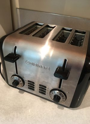 Cuisinart Four-Slice Toaster for Sale in Tacoma, WA