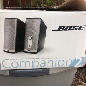 Bose Companion Speakers for Sale in Phoenix, AZ