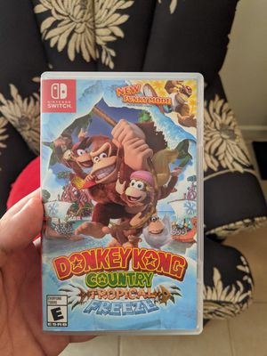Donkey kong tropical freeze for switch for Sale in Phoenix, AZ