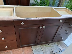 Kitchen or bathroom brown cabinets for Sale in Hollywood, FL