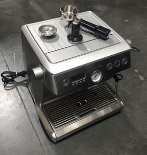 $700 USED in mint condition Breville BES920XL Dual Boiler Espresso coffee Machine in near perfect condition retails for over $1200 for Sale in El Monte, CA