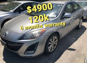 2011 Mazda 3 s sport 4 cylinder runs and drives excellent only 120k 6 months warranty for Sale in Salem, MA
