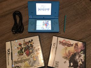 Nintendo DSi with 2 kingdom hearts games for Sale in Albuquerque, NM