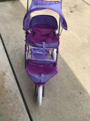 Girls play double stroller for Sale in White Lake charter Township, MI