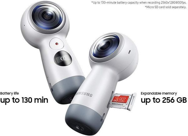 Samsung Gear 360 Real 360° 4K VR CameraSamsung Gear 360 Real 360° 4K VR Camera