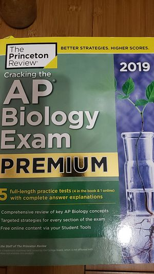 Cracking the AP Biology Exam Premium 2019 Edition for Sale in Ontario, CA