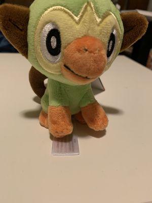 Pokemon Grookey plush keychain for Sale in Davis, CA