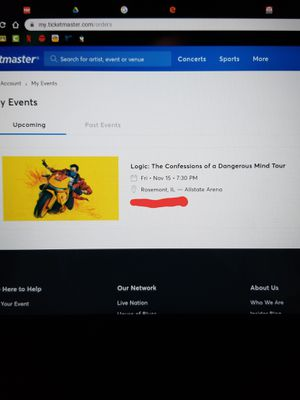Logic Tickets for Sale in Lockport, IL