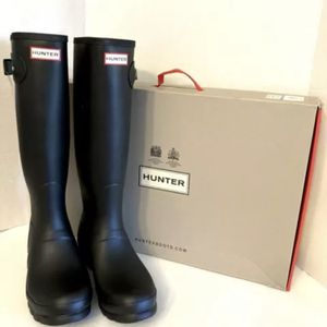 NEW Hunter Tall Black Original Woman's Rain Boots Authentic Matte SZ 6 8 9 10 for Sale in Williamsburg, VA