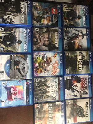 PS4 game with Delivery In some Kissimmee areas included. for Sale in Poinciana, FL