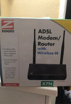 ADSL Modem router with wireless for Sale in Santa Ana, CA