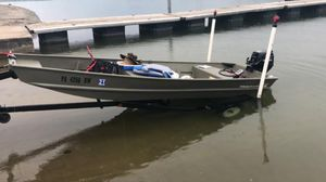 boat 2019 and trailer 1999 good condition as new, I have title in hand, comes with everything in the photo $ 2600 Reading PA for Sale in Reading, PA