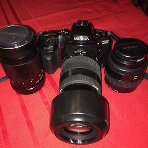 Minolta Maxxum 400si camera for Sale in Chillum, MD