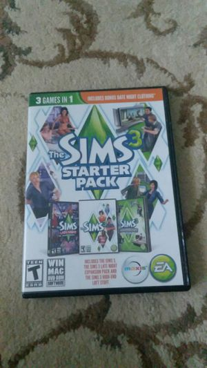 Sims 3 starter pack for Sale in Murfreesboro, TN