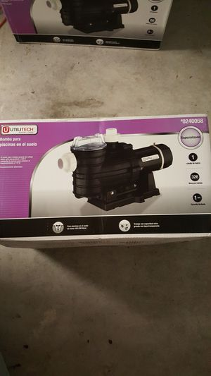 Utilitech In ground Pool Pump for Sale in Spring, TX