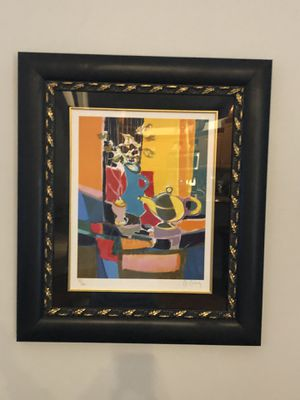 Marcel Mouly Original Framed, Signed and Numbered Lithograph with COA for Sale in Pompano Beach, FL